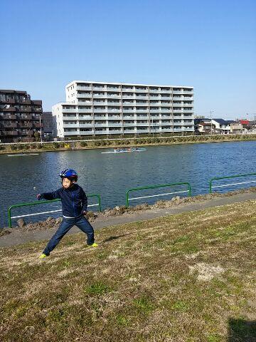 戸田ボートコース散歩