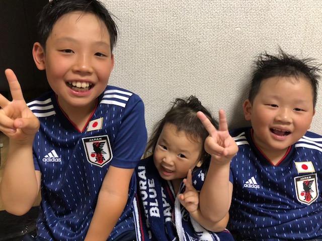 ワールドカップ応援中