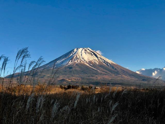 富士山周遊Uターン